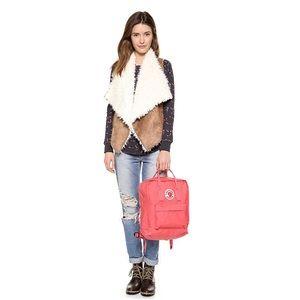 Ella Moss Sherpa Draped Vest